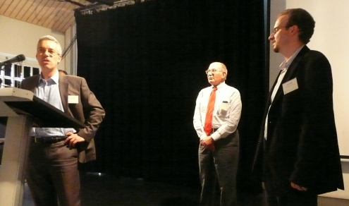 Claudio Radaelli, Giandomenico Majone and Prize Winner John Mikler
